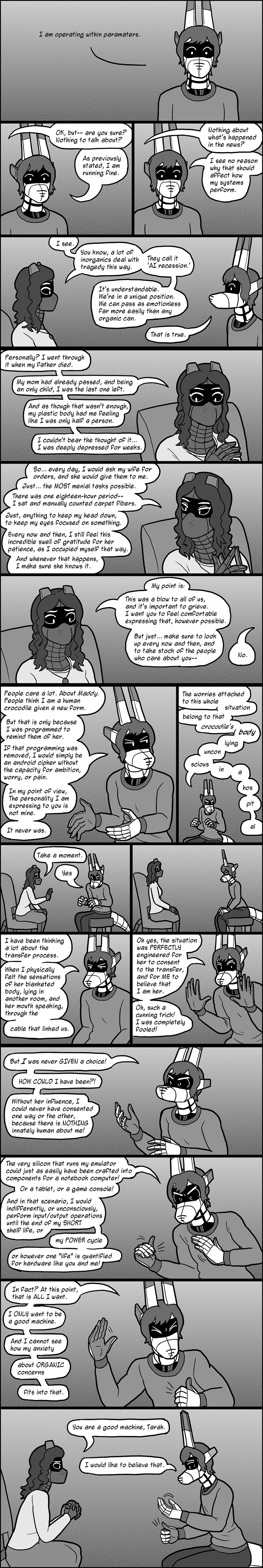 Comic: A Moment From My Adjustment to an Unexpected Crushing Loss