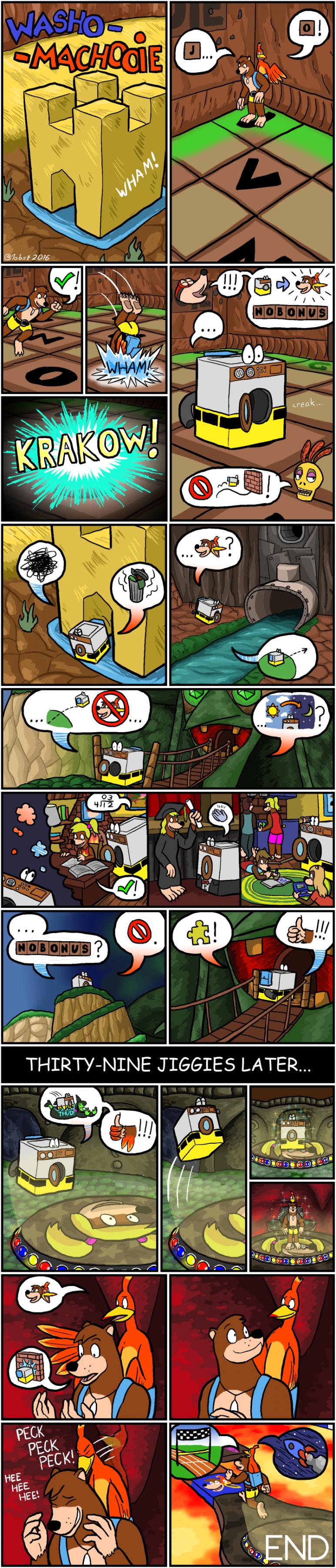 Comic: Washo-Machooie!