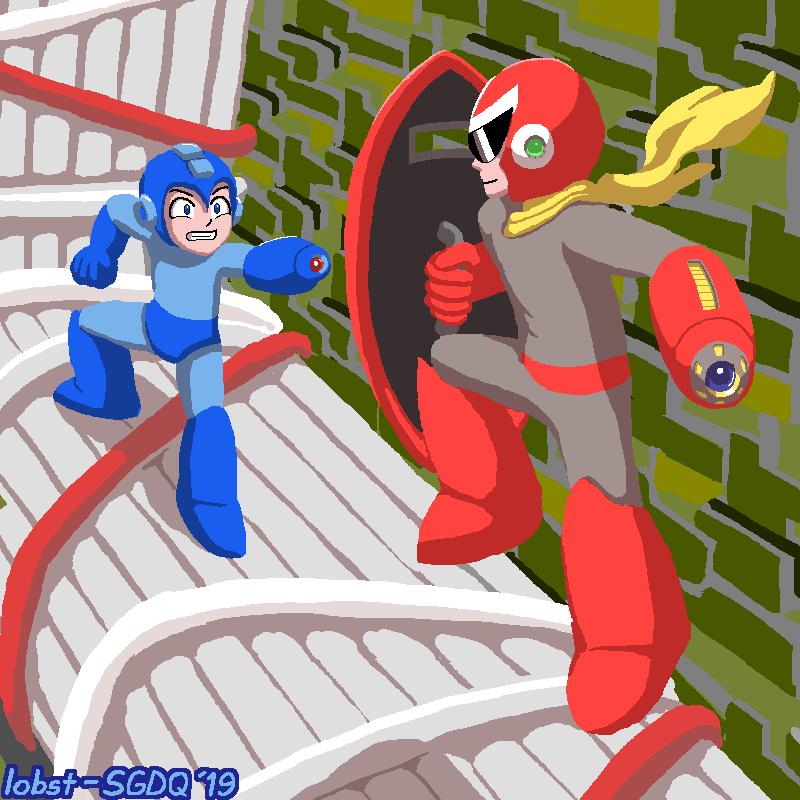 SGDQ 2019 Fanart: Mega Man 3